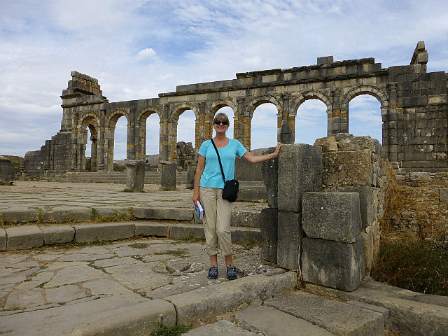 4.1380237219.in-front-of-the-basilica-at-volubilis