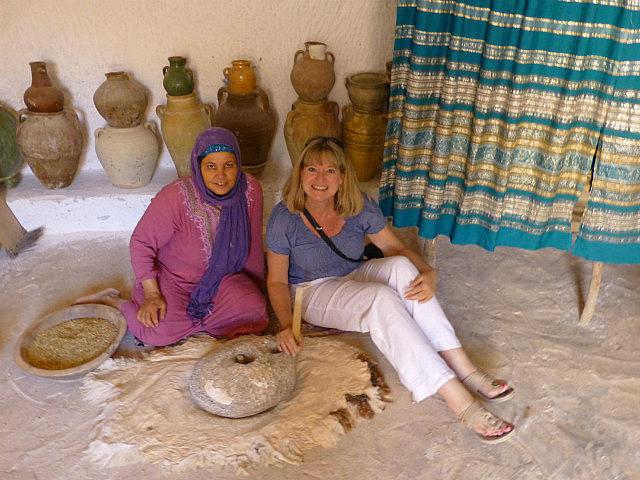 4.1381620375.inside-a-berber-stone-house-grinding-barley